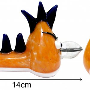 3G Angry Bird Pipe Orange 14cm