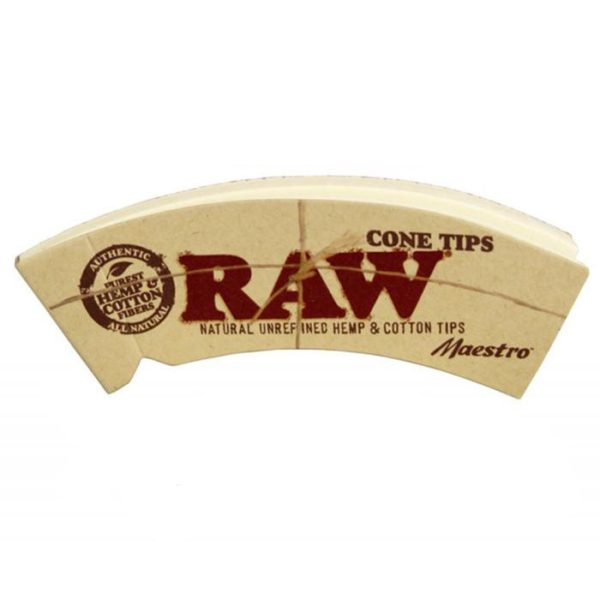 RAW Maestro Cone Filter Roach Tips King Size