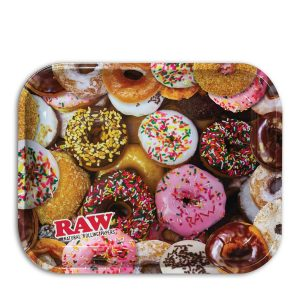 Raw Tray Large Donuts