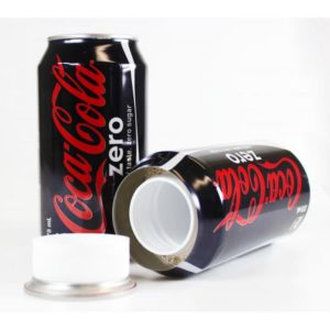 Diversion Safe Coca Zero Stash Can Hidden Secret Storage 375ml