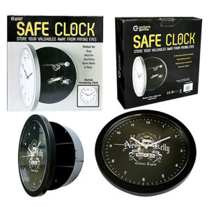 Ned Kelly Safe Clock