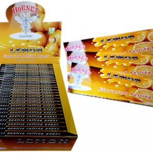 Hornet King Size Lemon Flavored Rolling Papers