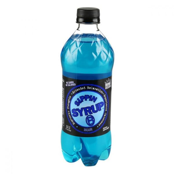 Sippin Syrup Relaxation Drink Beverage Blue 20 Oz