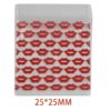 Red Lip Bag 25x25mm