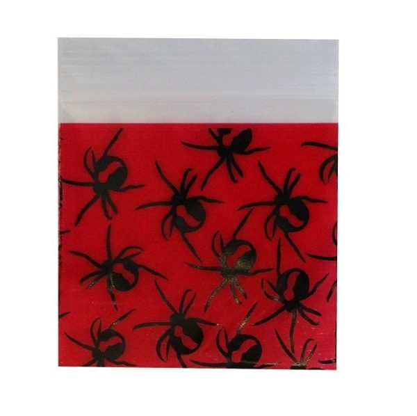 Red Back Spider Bag 50x50mm