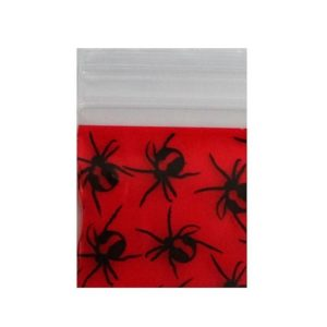 Red Back Spider Bag 25x25mm