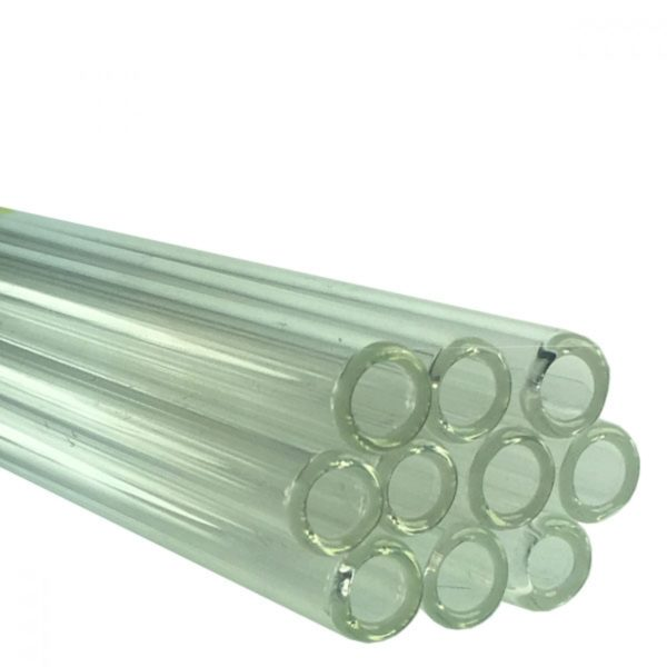 10 x Pyrex Glass Tube 15cm