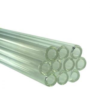 10 x Pyrex Glass Tube 60cm