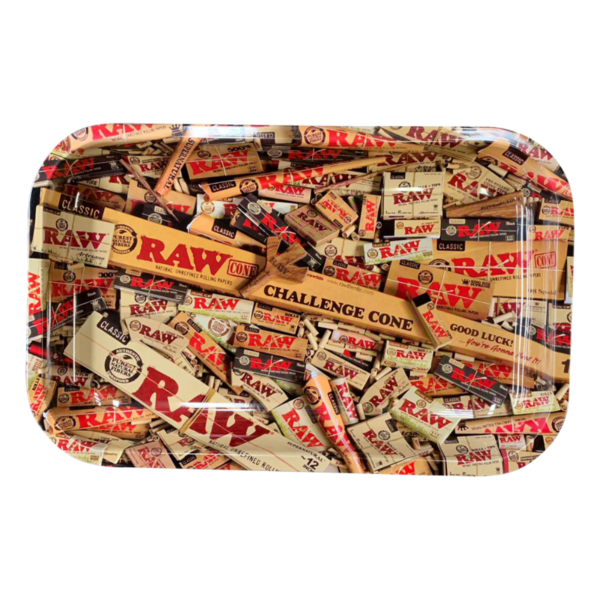 RAW Small Rolling Tray MIX 28x18cm
