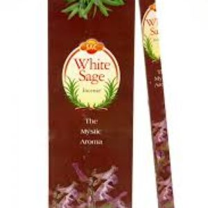 Sandesh White Sage Hex Incense 20g