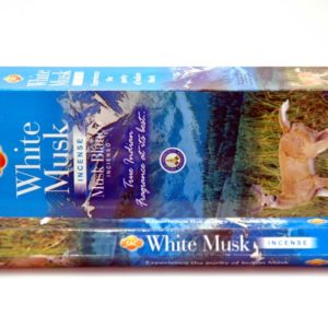 Sandesh White Musk Hex Incense 20g