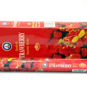 Sandesh Strawberry Hex Incense 20g