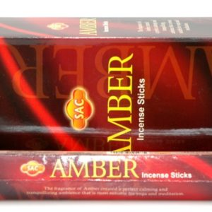 Sandesh Amber Hex Incense 20g