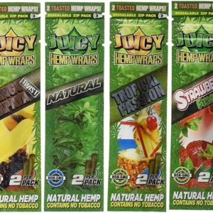10 x Juicy Jays Mixed Hemp Wraps