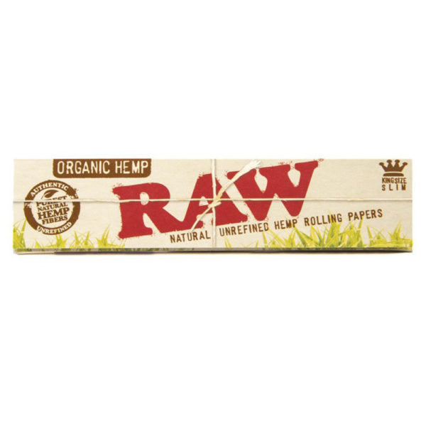 RAW Organic Rolling Papers King Size Slim